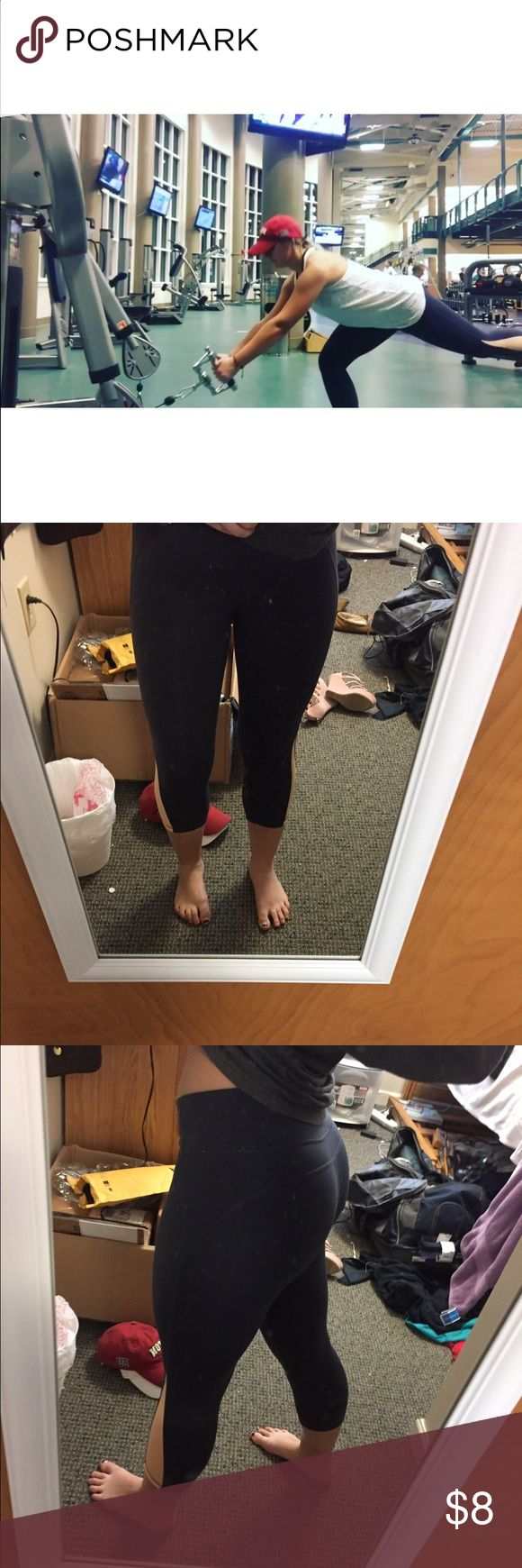 Old navy activewear leggings Super cute, comfy, stretchy, not see-through! Perfect for the gym or lounging. Fits size S-M Old Navy Pants Leggings