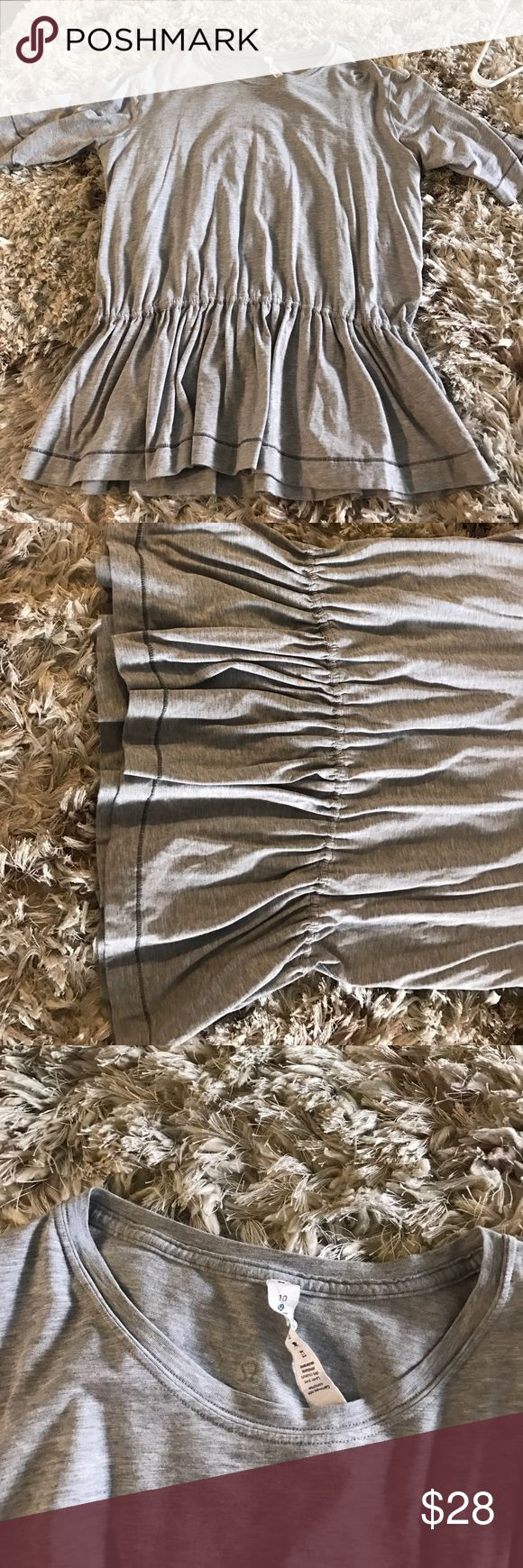 Lulu Lemon Workout Too Worn very lightly. Super cute with workout pants lululemon athletica Pants Leggings