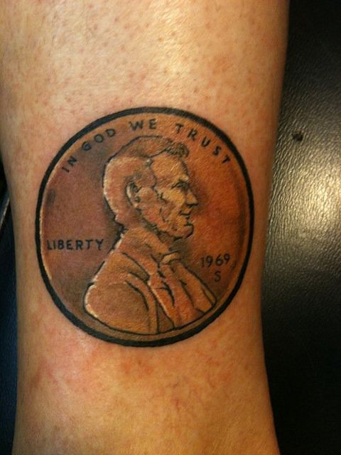 Keith Groves Penny tattoo Artistic Ink by smoochydeaux2, via Flickr