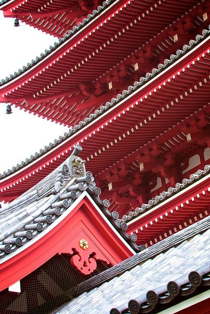 Roof detail architecture of Armändo Kyoto, Japan