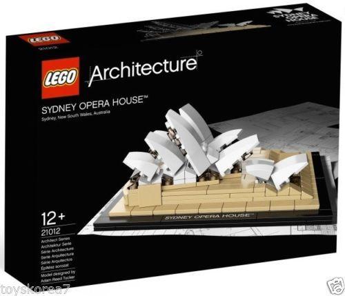 LEGO Architecture 21012 Sydney Opera House NEW Factory Sealed
