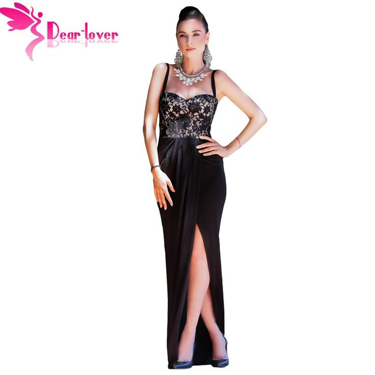 Mocha lace trim bustier dress