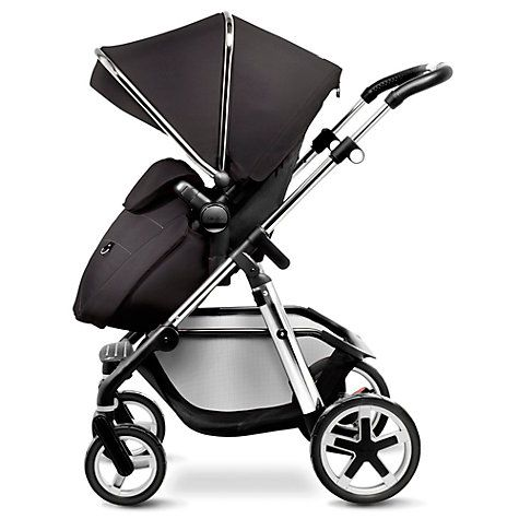 Silver Cross Pioneer Pushchair Seat, Chassis and Carrycot, Chrome http://www.parentideal.co.uk/john-lewis-silver-cross-pioneer.html