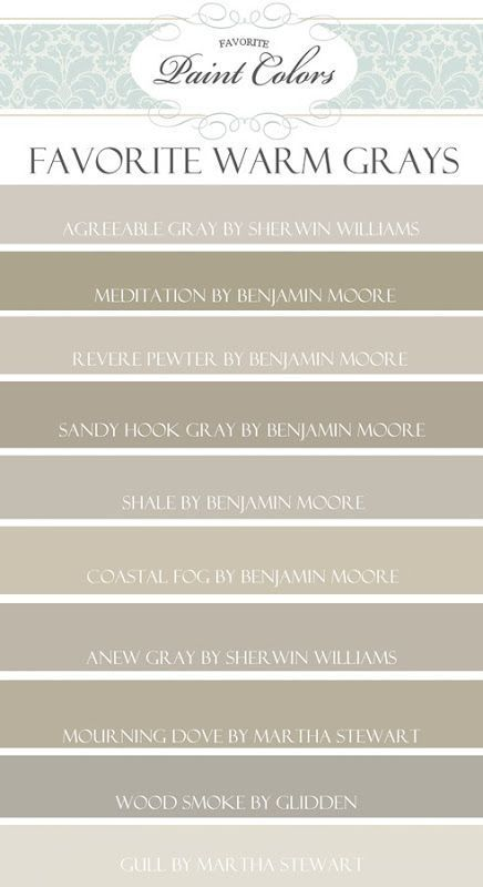 Warm gray paint colors by isaman10