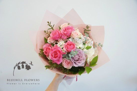 By BLUEBELL FLOWERS