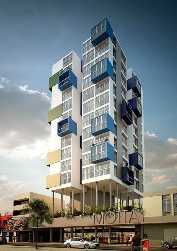 Edifícios de Serviços Vilanova Arquitetura: Complexo Motta, Campina Grande, PB