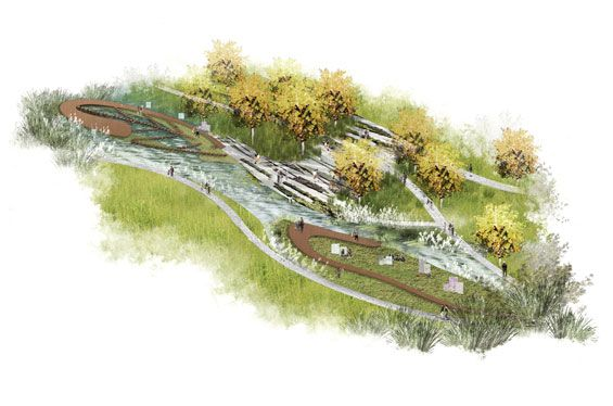 Fangshan Tangshan National Geopark Museum | Nanjing China | HASSELL « World Landscape Architecture – landscape architecture webzine