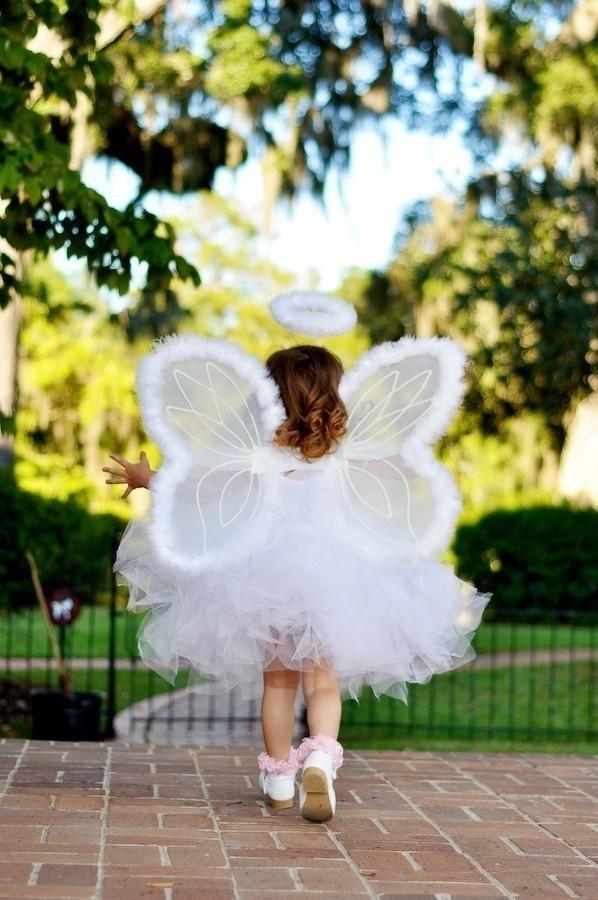 Angel tutu costume Infant thru Adult.  via Etsy.