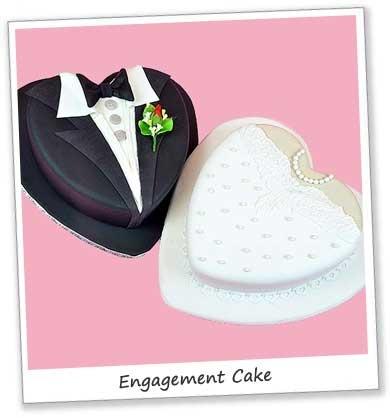 Engagement Cakes Tutorial