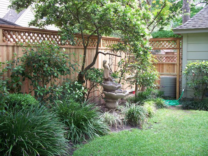 landscaping along fence - Google Search | Landscaping ... on Backyard Landscaping Along Fence id=21324