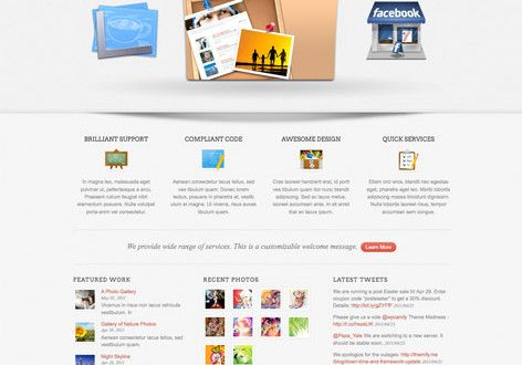 Folo A Business & Portfolio WordPress theme with Feature Slider By Themify