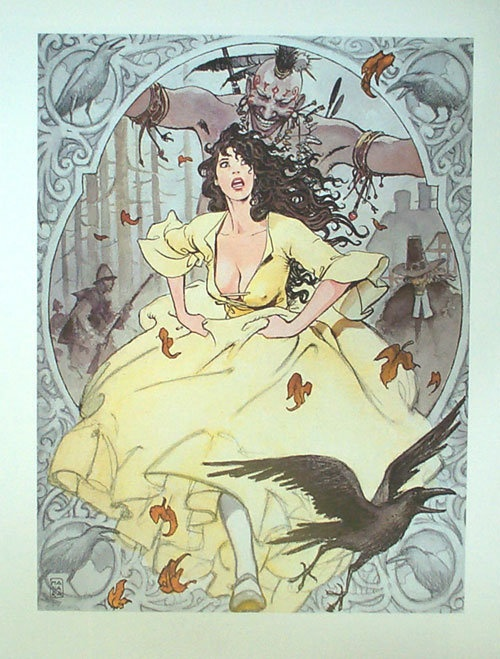 Indian Summer by Milo Manara and Hugo Pratt.  Classic Italian duo at its best, one of the best the comic world ever produced.