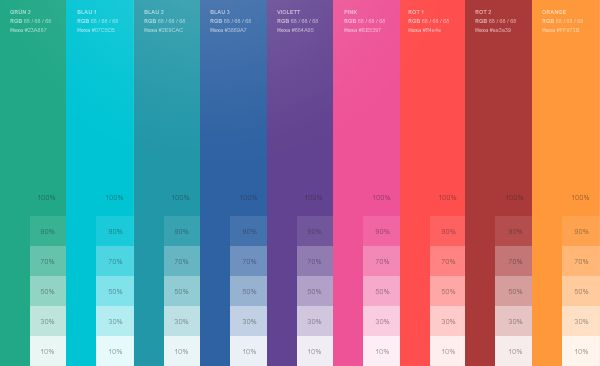 Branding, Interaction Design / AUPEO! Personal Radio by Rene Bieder, via Behance: Colors Colors, Secondary Colors, Personalized Radios, Colors Schemes, Colour Theory, Colour Inspiration, Colour Pallette, Colour Palettes, Colour Schemes