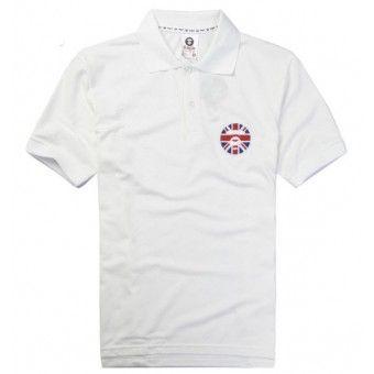 Walk the street of England with this White AAPE Ape Face England Polo Shirt #BAPE #ABathingApe #streetwear #urbanwear #streetfashion