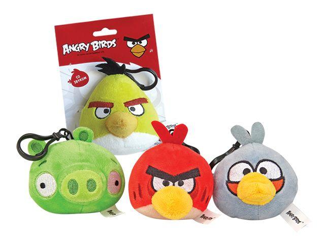 Angry Birds (Злые или Сердитые Птички), маленькая плюшевая игрушка озвученная. Где купить в СПб