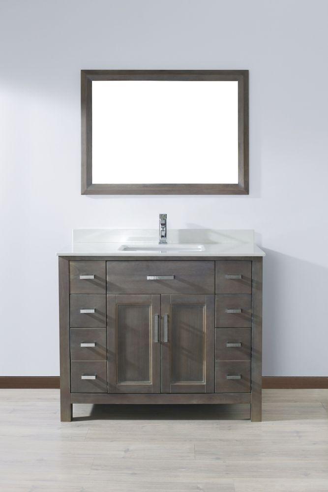 Best 25 42 inch bathroom vanity ideas on pinterest 42 - Discount bathroom vanities without tops ...