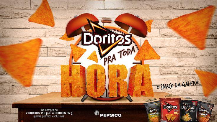 Doritos pra toda hora! on Behance
