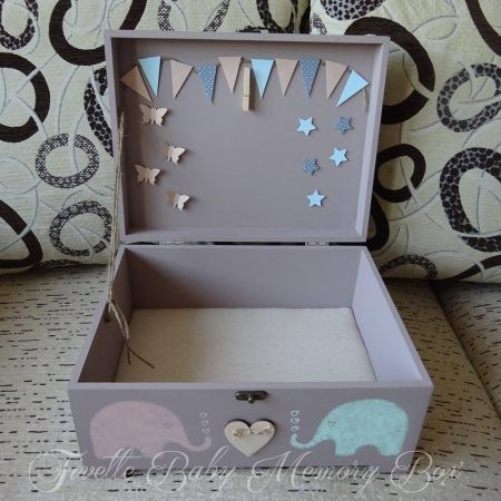 BABY MEMORY BOX TESÓKNAK NÉVVEL