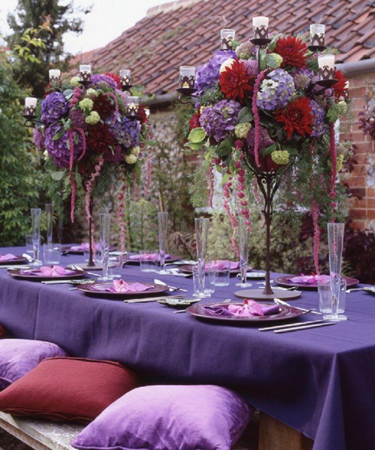 Purple Wedding Reception Ideas: 17 Best Images About Glamour -N- Luxury Wedding