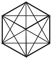 Magical six-pointed star article: http://www.ivakenaz.com/p/six-rayed-star.html #sacred geometry #hexagram #six