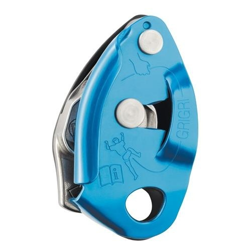 The GRIGRI 2. Definitely a big improvement on the original GRIGRI 1 and and now an indispensable piece of kit. For sport-climbing this is probably the best belay device out there.