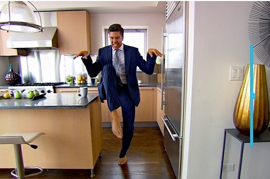 Fredrik Eklund on Bravo's Million Dollar Listing New York. Hi-Ya!