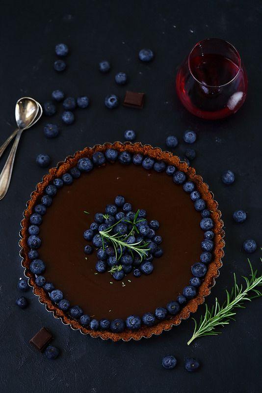 Un dejeuner de soleil: Tarte au chocolat sans cuisson