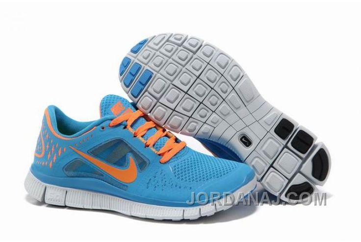 7be2b3d7e742 spain customer reviews for women nike free 5.0 v4 sky blue orange running  shoes b41e5 0ec77