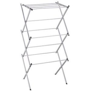 Metal Airer Cloth Dryer Clothes 3 Tier Concertina Patio Horse By Home Discount