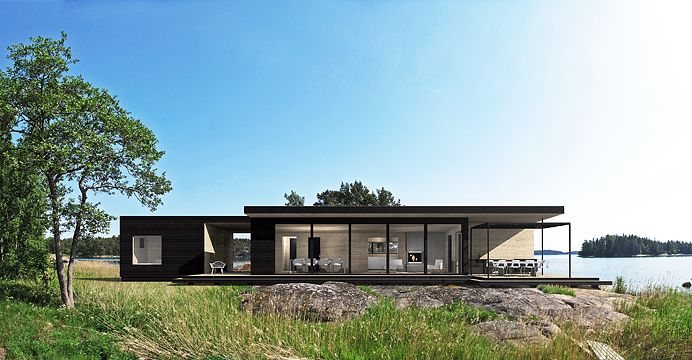 Sunhouse S400. Architect: Kalle Oikari.