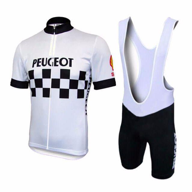 Retro Peugeot Pro Cycling Kit