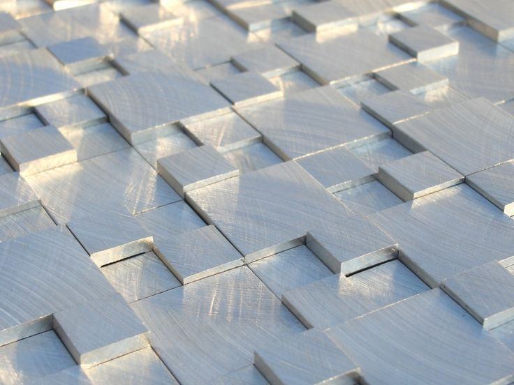 Aluminum Mosaic Tile 3d Raised Pattern Mosaics Products
