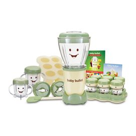 Do you want to make baby food the easy way? Always have fresh nutritional baby food on hand with the Baby Bullet.