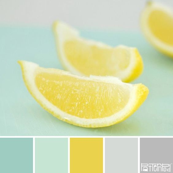 Lemon mint color palette I'm in love with color mint right now.