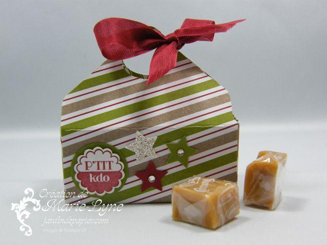 Petits paniers de Noël - Stampin'UP! - Scrapbooking Stampin Up Canada | Cartes d'anniversaire et d'invitation | Faire part mariage | Jardin de Papier