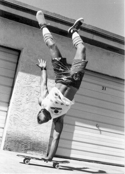 acrobatic skate