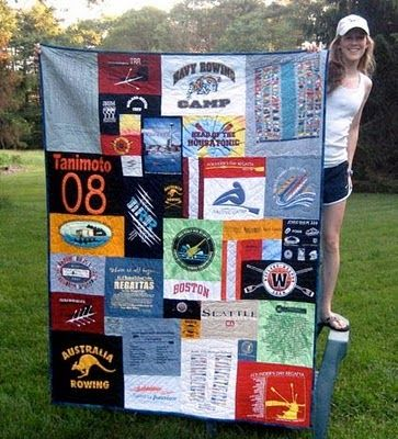 Keep the old t-shirts in a new way