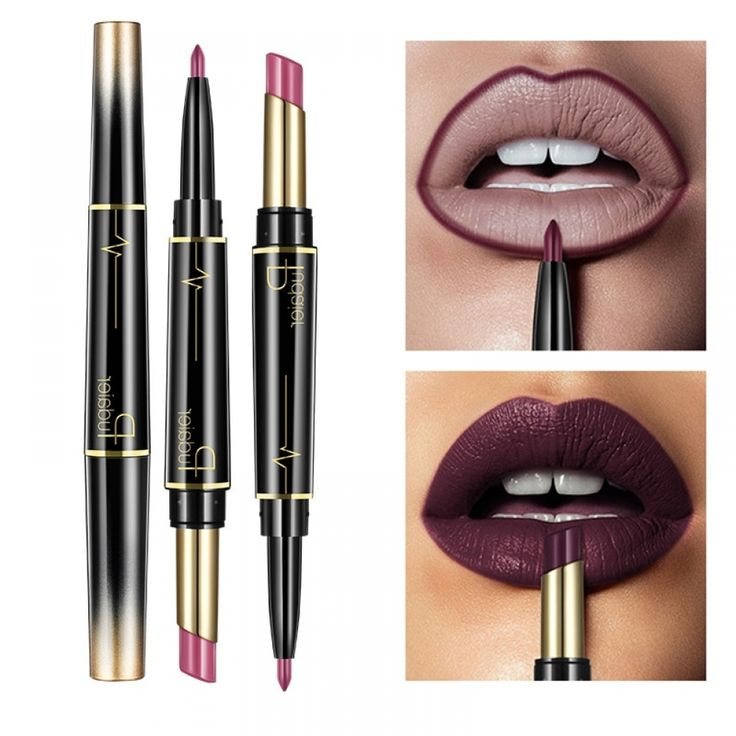 Wateproof Matte 2 in 1 Lipstick  Price:$ 8.99 & FREE Shipping  #ladieschoices #d…