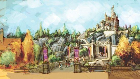 Beast Castle! Behind the Scenes With Walt Disney Imagineers