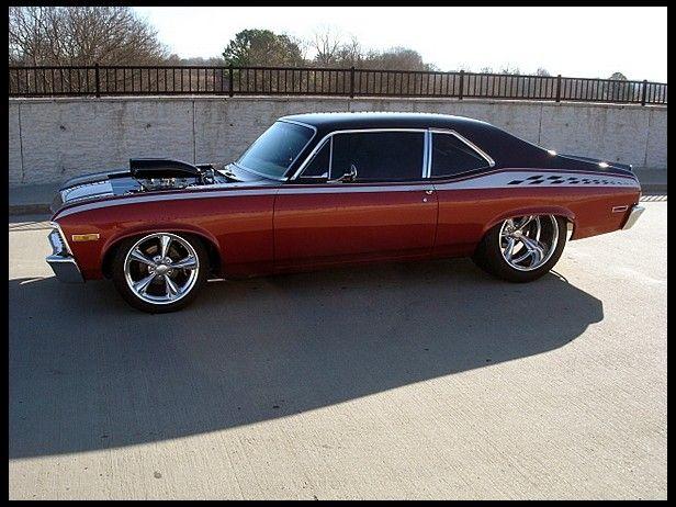 A Lot Of Cars >> 1971 Chevrolet Nova Resto Mod 572 CI, Automatic presented as lot F242 at Houston, TX 2012 ...