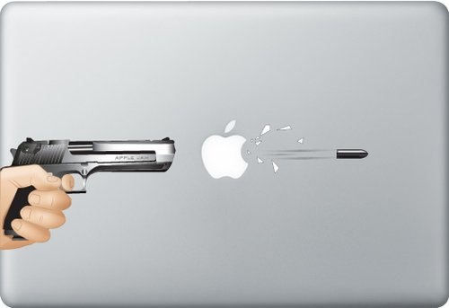 Shoply.com -Gun shot macbook. Only $7.90