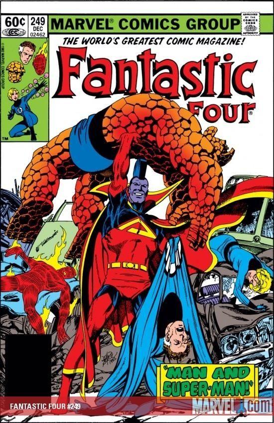 Fantastic Four #249 - cover by John Byrne