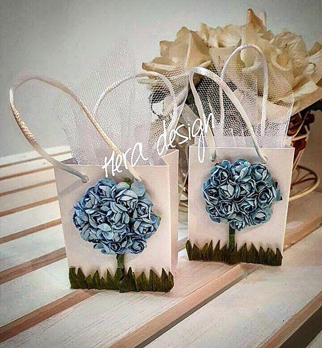 Çiçekli şeker poşetlerimiz... #heradesign #özeltasarım #nikahhediyelikleri…
