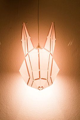 The Most Adorable Paper Animal Lights | The Design Inspiration