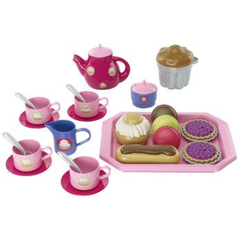 Just Like Home Tea Set with Cakes