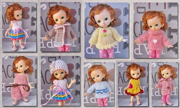 10 PCS clothing for Pukifee Fairyland bjd sd dolls 1/8 #BJD
