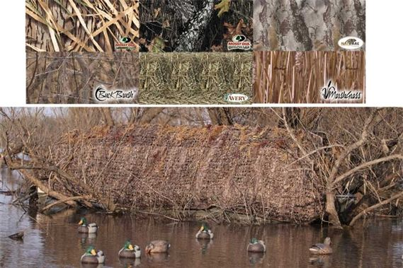 Avery Outdoors Quick-Set Duck Boat Blind Combo - 14-16 foot at MacksPW.com