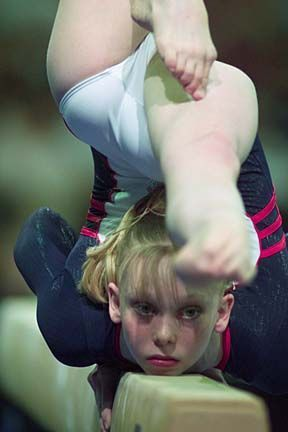 hollie vise on balance beam, gymnast, gymnastics (reorganing, will probably move to one of my other gym boards)