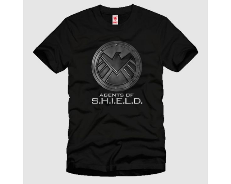 Agents Of Shield Logo Metal  Tshirt