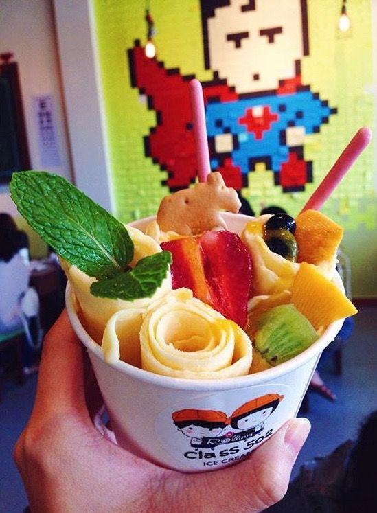 Thai style ice cream at Clas 52